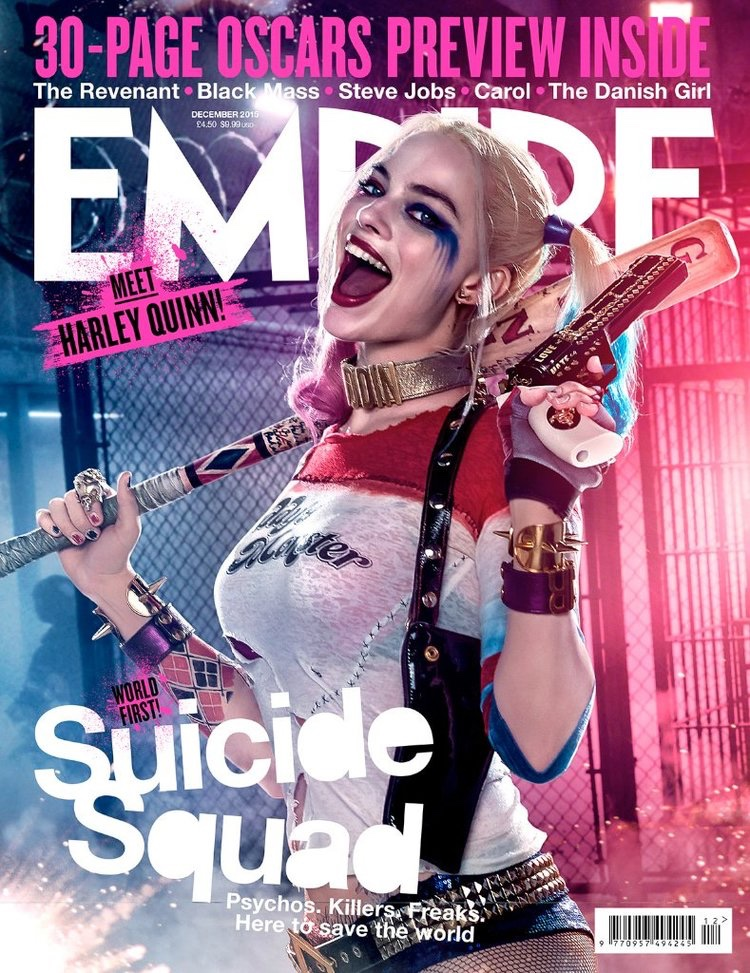 Margot Robbie & Cara Delevingne Get Into Character for Empire Covers