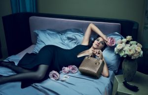 Marion Cotillard Lounges in New Lady Dior Campaign