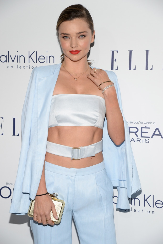 Miranda Kerr at the 22nd annual ELLE Women in Hollywood celebration