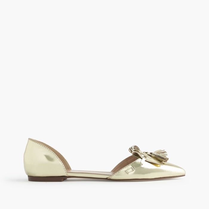 top fashion 045bf b1795 j crew gold shoes - blogquerotrabalhar.com c60f5038e
