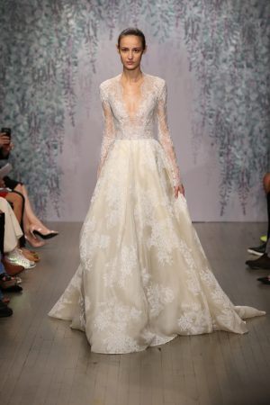 Garden of Delights: Monique Lhuillier Bridal Fall 2016