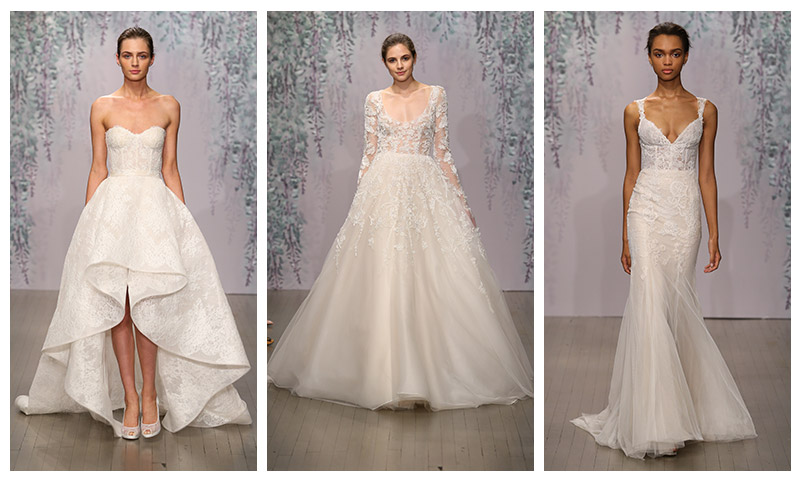 lhuillier 2016 bridal fall wedding dresses