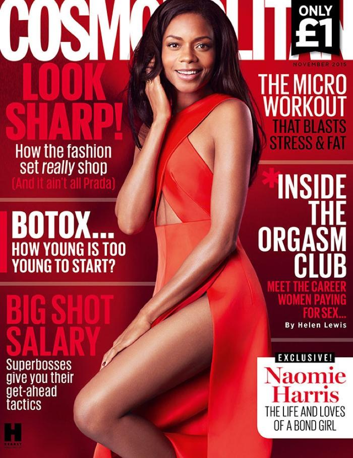 Naomie Harris - Cosmopolitan UK November 2015