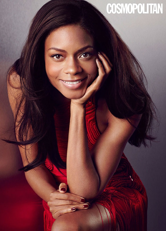 Naomie Harris is all smiles for Cosmopolitan UK
