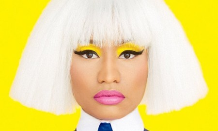 Rapper Nicki Minaj shows off a bob hairstyle in the October 15, 2015, cover story from New York Times Magazine.  The cover story is called 'The Passion of Nicki Minaj'.