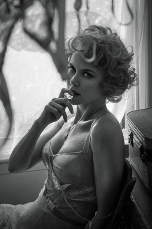 Nicole Kidman Wows in Retro Inspired Lingerie for Interview