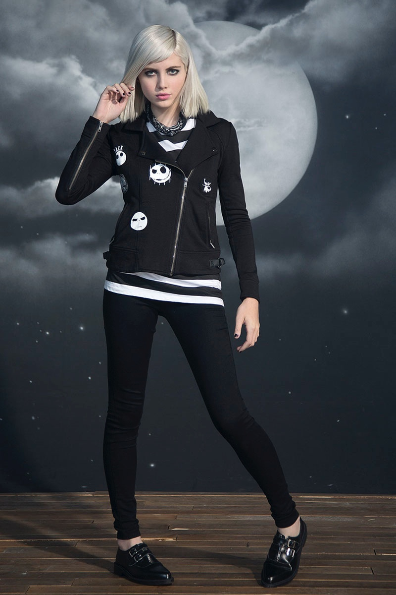 Hot Topic x Nightmare Before Christmas Moto Jacket