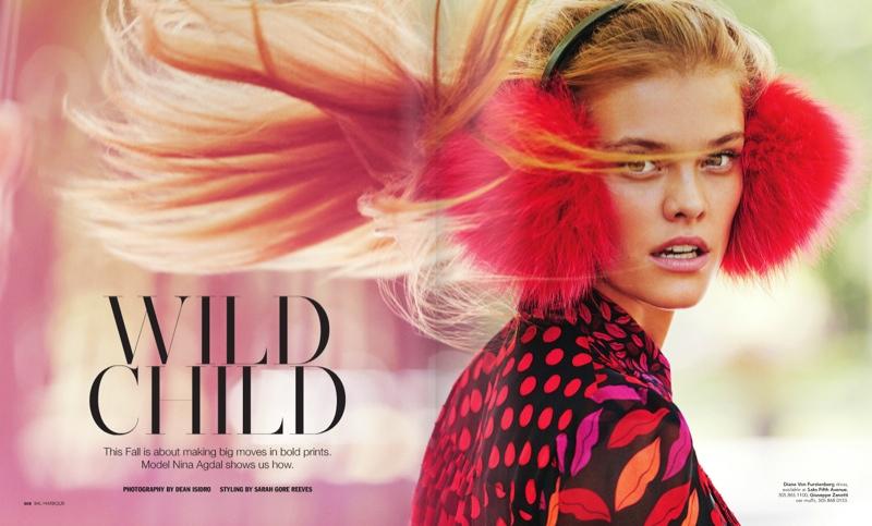 Nina Agdal stars in Bal Harbour's fall 2015 magazine