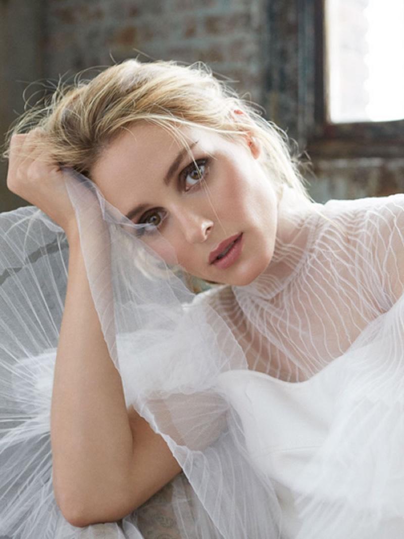 Olivia Palermo Enchants in Romantic Looks for Holt Renfrew Shoot