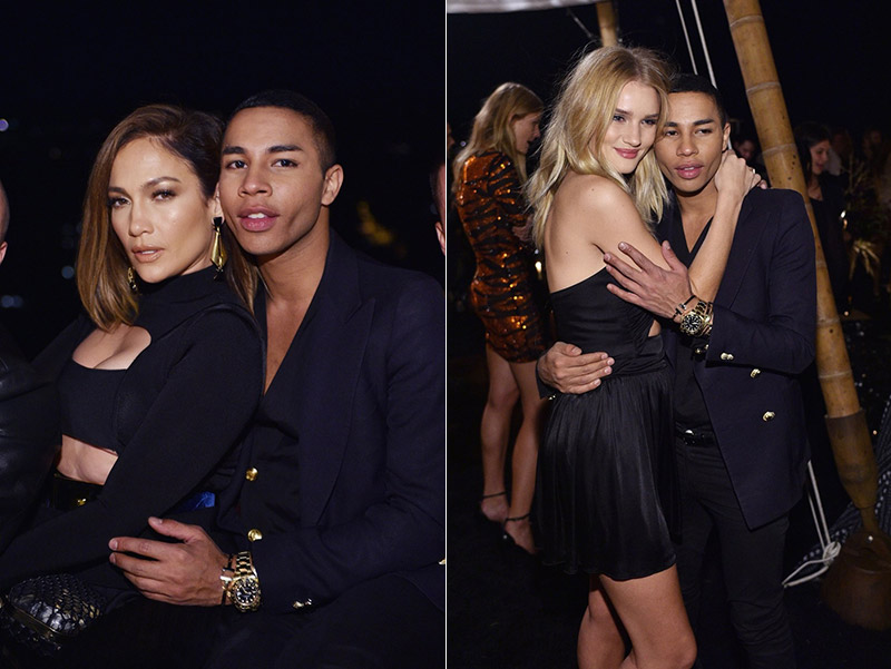 Balmain's Olivier Rousteing Had a Star-Studded 30th Birthday Bash in LA