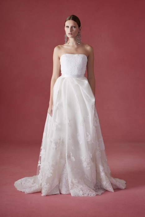 fashion oscar renta wedding dresses