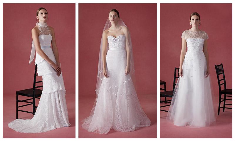 See Oscar de la Renta\'s Fall 2016 Wedding Dresses