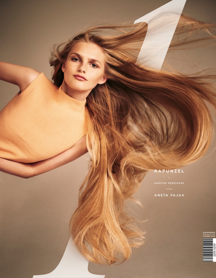 Aneta Pajak Has Rapunzel Hair In UmnO Magazine