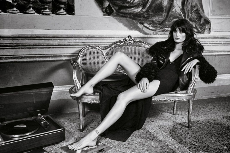 Isabeli Fontana Stuns In Black & White For Redemption Choppers Fall-winter 2015
