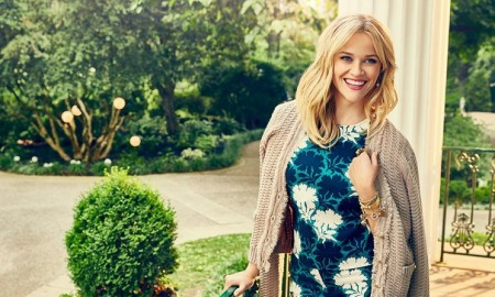Actress Reese Witherspoon promotes her clothing label Draper James in the September 2015 issue of Southern Living Magazine, photographed by Miller Mobley.