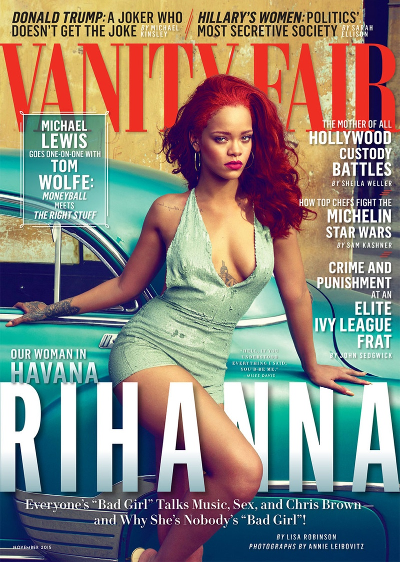 Rihanna - Vanity Fair November 2015