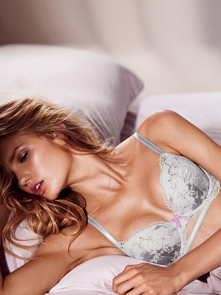 Romee Strijd Looks Comfortably Sexy In Victorias Secret