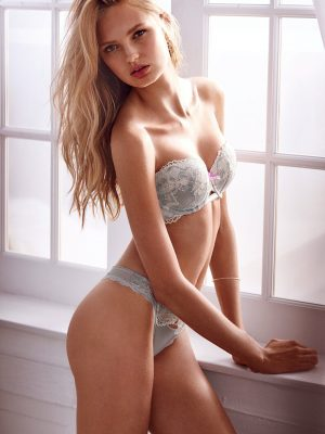 Romee Strijd Looks Comfortably Sexy in Victoria's Secret