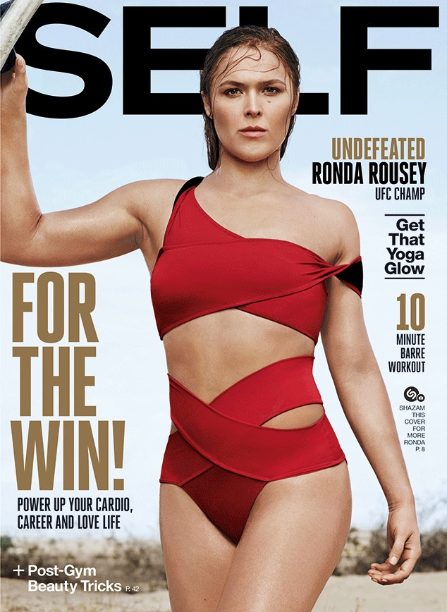 UFC Champion Ronda Rousey Shows Off Her Moves for Self Magazine