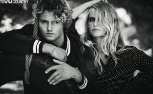 Sailor Brinkley-Cook & Brother, Jack, Star in Town & Country
