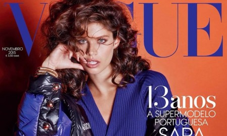 Sara Sampaio on Vogue Portugal November 2015 Cover