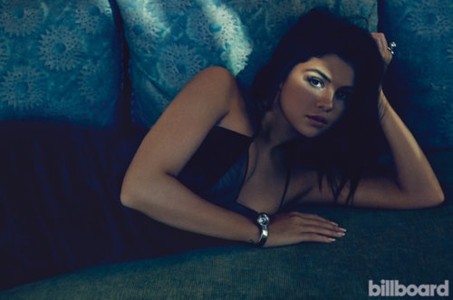 Selena Gomez poses for Billboard Magazine