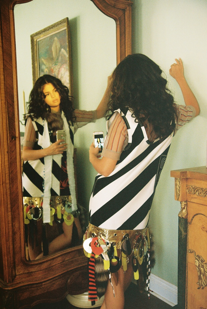 Selena Gomez Poses in Miu Miu for Wonderland Magazine