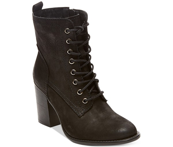 Steve Madden Lace-up Leather Booties