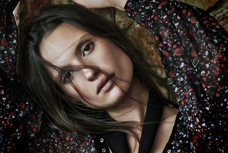Cate Underwood stars in Stradivarius' fall-winter 2015 campaign