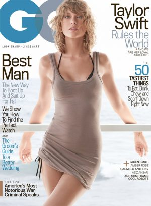 Taylor Swift Gets Sultry on Her First GQ Magazine Cover