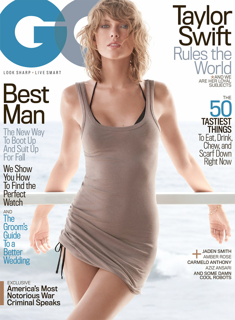 Gq Magazine The Secrets Of R Kelly: Taylor Swift GQ Magazine November 2015 Cover