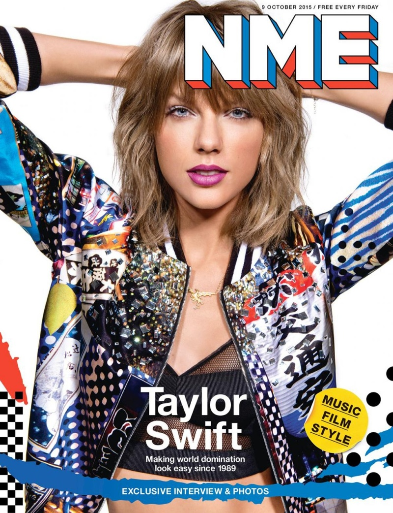 Taylor Swift - NME Magazine`s October Cover