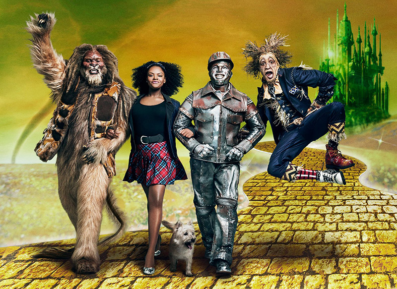 Set to air on December 3, NBC has unveiled the first cast image from 'The Wiz Live!' musical featuring the cast including Shanice Williams as Dorothy, David Alan Grier as the Cowardly Lion, Ne-Yo as the Tin Man and Elijah Kelley as the Scarecrow.
