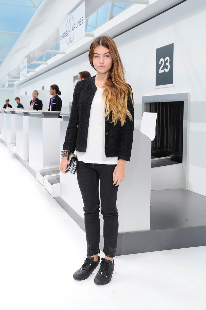 Irina shayk stars in a new bebe campaign