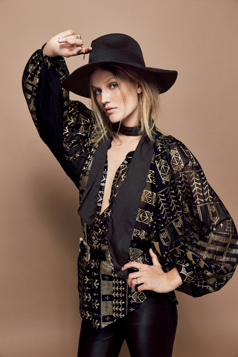 See a Preview of Free People's October Catalogue with Toni Garrn & Caroline de Maigret