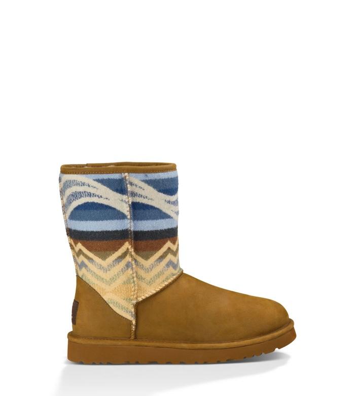 UGG x Pendleton Classic Short Boot