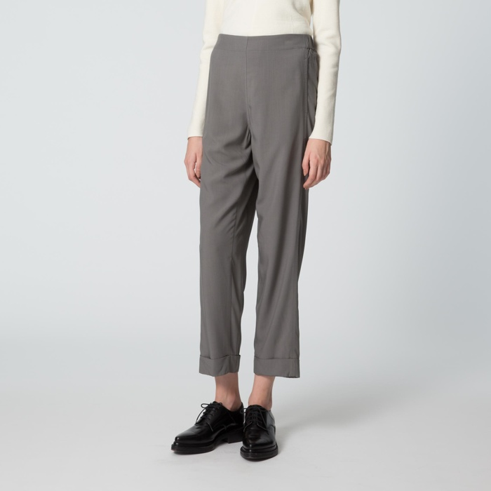 UNIQLO and Lemaire Wide Leg Pants