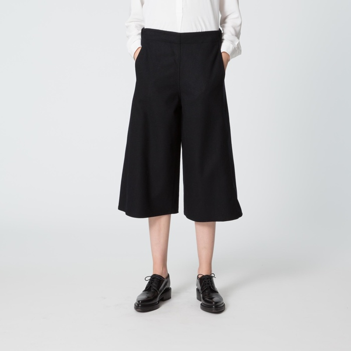 UNIQLO and Lemaire Wool Cashmere Gaucho Pants
