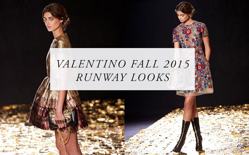 9e491297bf25 Shop Valentino Fall 2015 Runway Looks