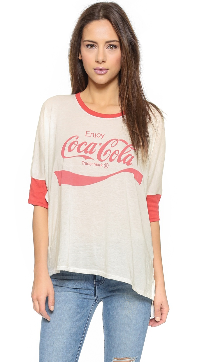 Wildfox x Coca Cola Morning T-Shirt