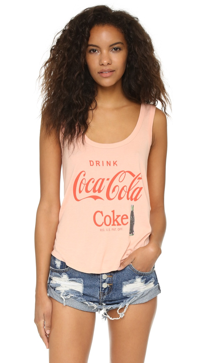 Wildfox x Coca Cola Tank