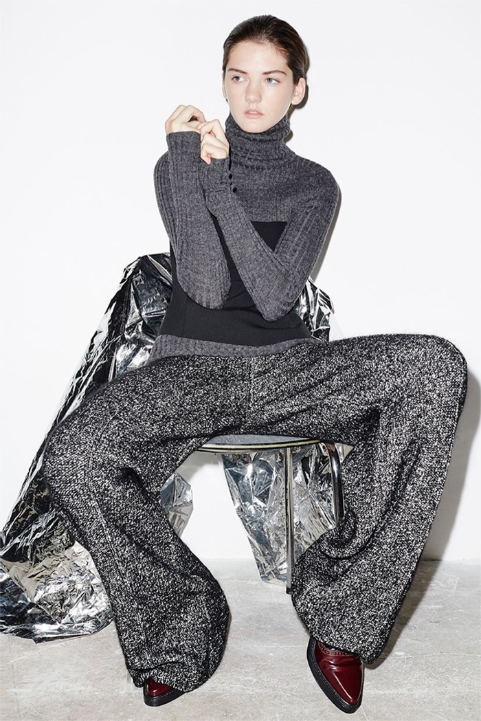 Zara Updates with Fall Knitwear Styles