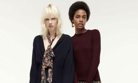 Models for Zara grunge style