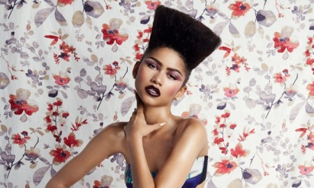 Zendaya channels Grace Jones with a high-top hairstyle