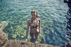 Constance Jablonski Stuns in Zimmermann Swim Campaign