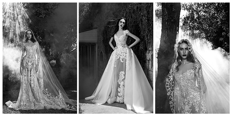 Looks from Zuhair Murad Bridal's fall 2016 collection