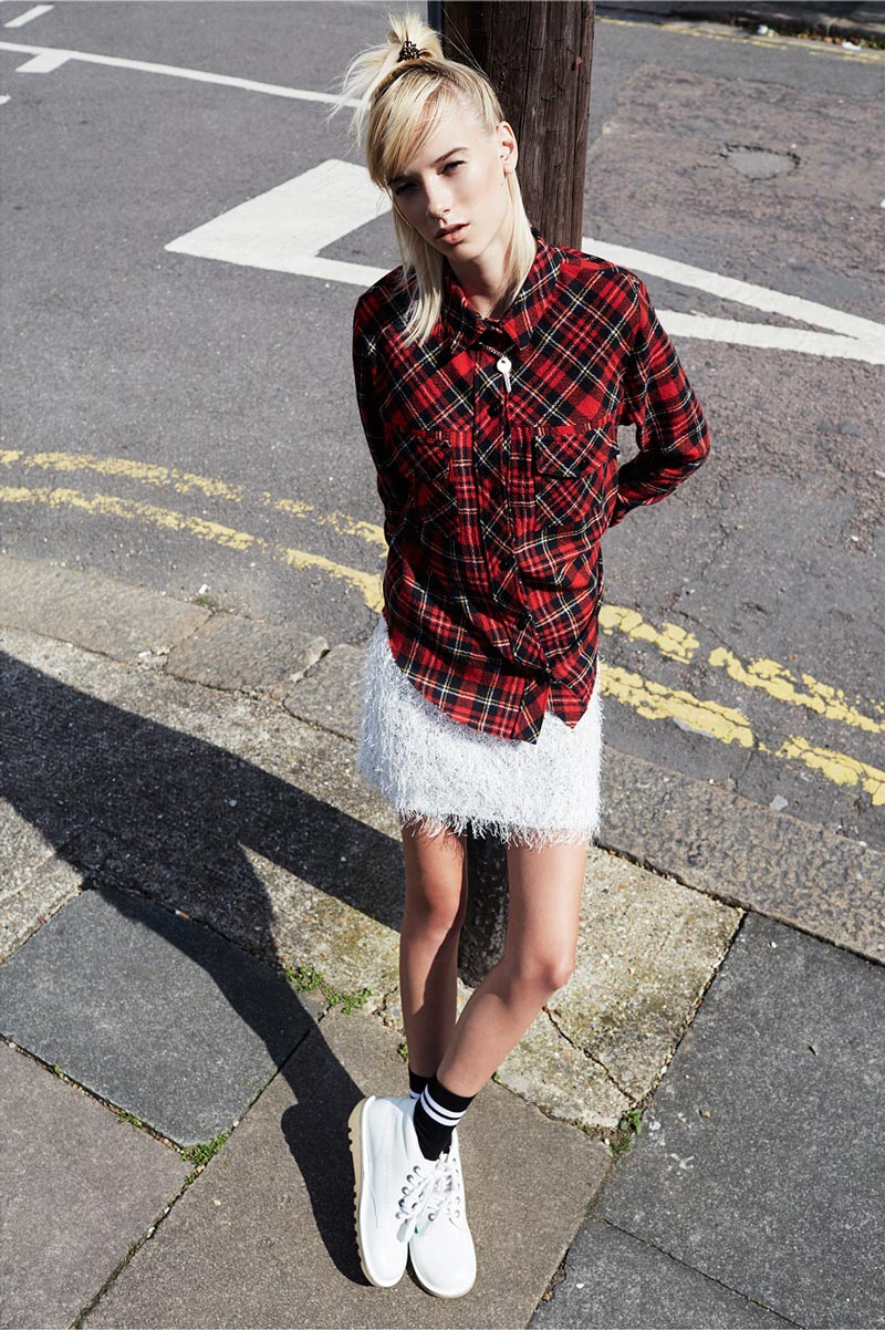 Exclusive: Niamh Grey by Daniel Nadel in 'Just a North West London Girl'