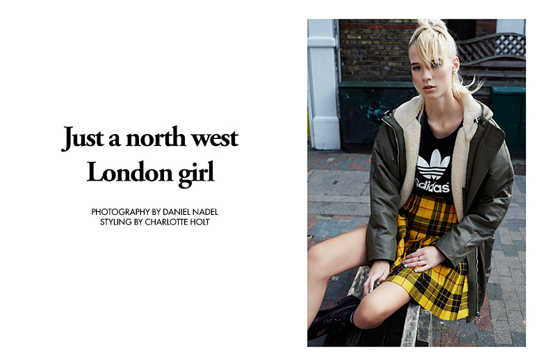 Exclusive: Niamh Grey By Daniel Nadel In Just A North West London Girl