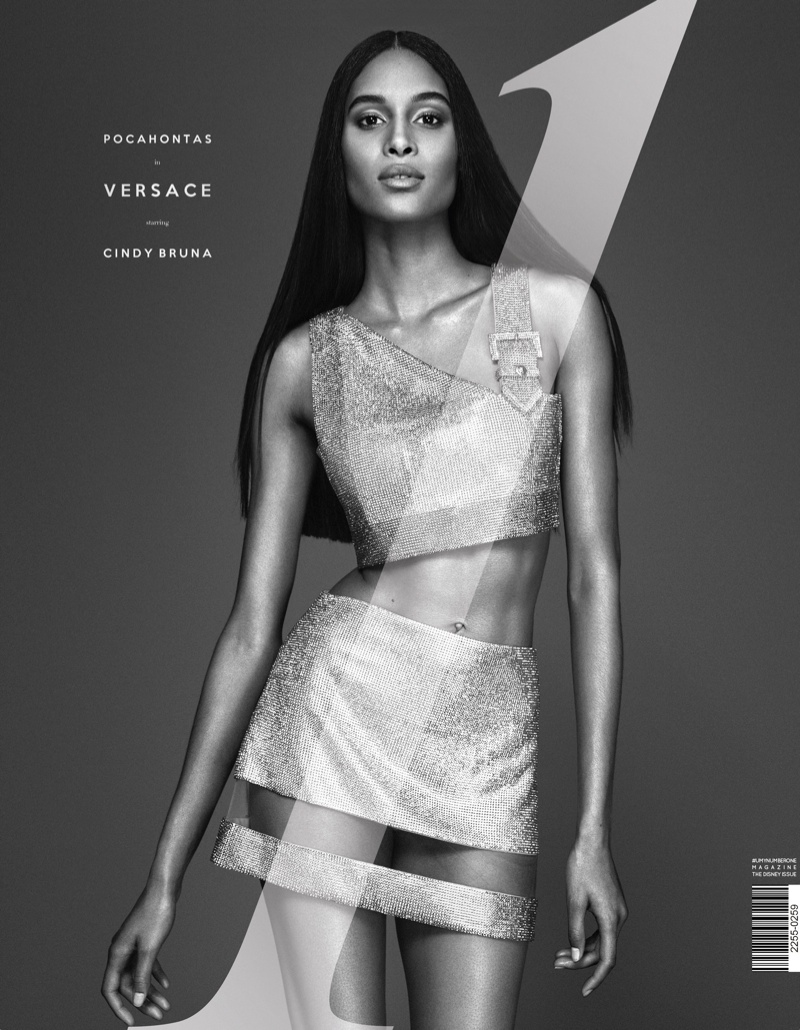 Cindy Bruna on UmnO Fall 2015 cover