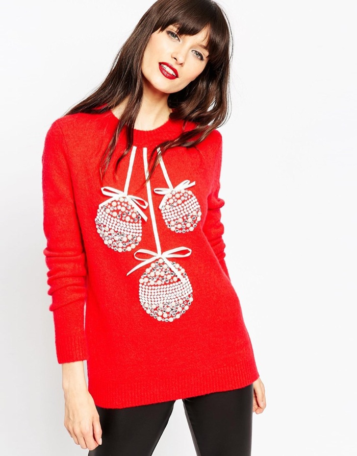 Christmas sweaters with personality from asos
